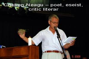 9. Cristian Neagu – poet, eseist, critic literar