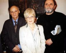 12-2006 Premiile ARP-Scriitorii GrigoreVieru, MelaniaCuc si AndreiVartic