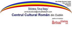 Emblema Centrului Cultural sigla centrului cultural roman din dublin