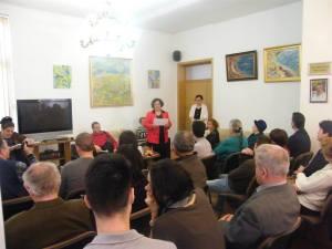 Elisabeta Iosif diploma Cristina Stefan 3 aprilie 2015