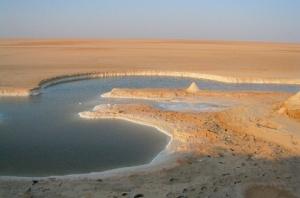 Lacul Chott El Jerrid